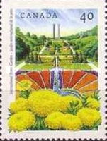 [Public Gardens - Imperforated Top or Bottom, Typ AQV]