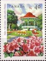 [Public Gardens - Imperforated Top or Bottom, Typ AQY]