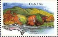 [Canadian Rivers, Imperforated Top or Bottom, Typ ASY]