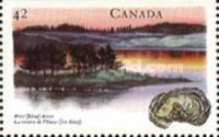 [Canadian Rivers, Imperforated Top or Bottom, Typ ASZ]