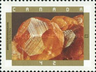 [The 150th Anniversary of Geological Survey of Canada - Minerals, Typ AUL]