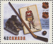 [The 75th Anniversary of National Hockey League, Typ AUO]