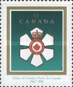 [The 25th Anniversary of the Order of Canada and Daniel Roland Michener (Former Governor-General) Commermoration, Typ AUR]
