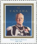[The 25th Anniversary of the Order of Canada and Daniel Roland Michener (Former Governor-General) Commermoration, Typ AUS]