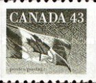 [Canadian Flag - Coil Stamp, Typ AVG]