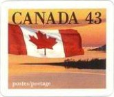 [Canadian Flag - Self Adhesive, Typ AVH]