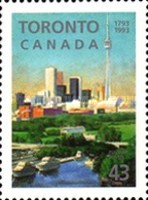 [The 200th Anniversary of Toronto, Typ AWK]