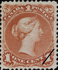 [Queen Victoria - Size: No. 1-1C 17 x 21 mm, No. 2-3a: 20 x 24mm. For Earlier Issues, see British Canada, Typ B1]