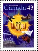 [The 125th Anniversary of Manitoba as Canadian Province, Typ BBA]