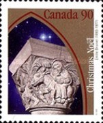 [Christmas - Sculptured Capitals from Ste.Anne-de-Beaupre Basilica, Typ BCF]