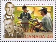 [The 75th Anniversary of the Canadian Tire Corporation, Typ BFR]
