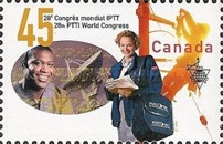 [The 28th World Congress of Postal, Telegraph and Telephone International Staff Federation, Montreal, Typ BGM]
