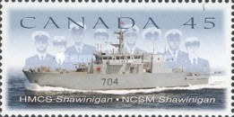 [The 75th Anniversary of Canadian Naval Reserve, Typ BKA]