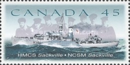 [The 75th Anniversary of Canadian Naval Reserve, Typ BKB]
