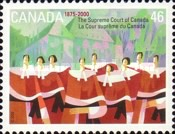 [The 125th Anniversary of Supreme Court of Canada, Typ BQW]