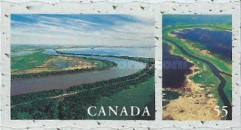 [Canadian Rivers and Lakes - Self-Adhesive, Typ BRG]