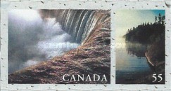 [Canadian Rivers and Lakes - Self-Adhesive, Typ BRH]