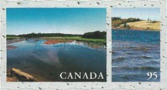[Canadian Rivers and Lakes - Self-Adhesive, Typ BRL]