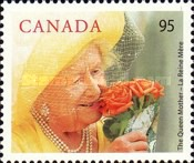 [The 100th Anniversary of the Birth of Queen Elizabeth the Queen Mother, Typ BRN]