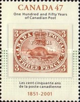 [The 150th Anniversary of the Canadian Postal Service, Typ BTQ]