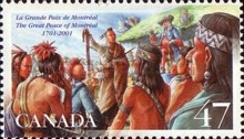 [The 300th Anniversary of Great Peace Treaty of Montreal between American Indians and New France, Typ BUQ]