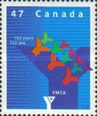 [The 150th Anniversary of YMCA in Canada, Typ BVH]