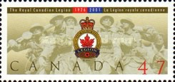 [The 75th Anniversary of Royal Canadian Legion, Typ BVI]