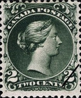 [Queen Victoria - Size: 20 x 24mm, Typ C2]