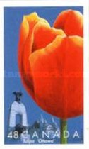 [The 50th Anniversary of the Canadian Tulip Festival - Self Adhesive, Typ CAZ]