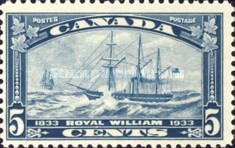 [The 100th Anniversary of the First Atlantic Crossing of a Canadian Steamer, Typ CB]