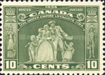 [The 150th Anniversary of the Migration of American Loyalists to Canada, type CD]