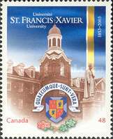 [The 150th Anniversary of the St. Francis Xavier University, Typ CDC]