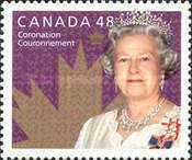 [The 50th Anniversary of the Coronation of Queen Elizabeth II, Typ CDE]