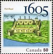 [The 400th Anniversary of Port-Royal, Typ CIV]