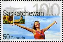 [The 100th Anniversary of Saskatchewan, Typ CIX]