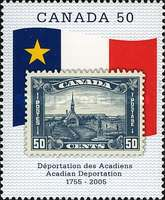 [The 250th Anniversary of Acadian Deportation, Typ CIZ]