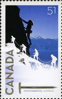 [Mountaineering 1906-2006 - Self Adhesive, Typ CLC]