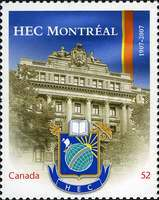 [The 100th Anniversary of HEC Montreal, Typ CNB]