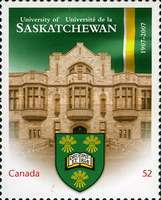 [The 100th Anniversary of the University of Saskatchewan, Typ CNE]