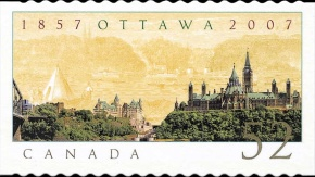 [The 150th Anniversary of Ottawa, Typ CNF]
