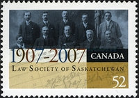 [The 100th Anniversary of the Law Society of Saskatchewan, Typ COA]