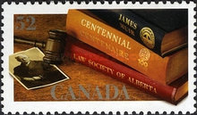 [The 100th Anniversary of the Law Society of Alberta, Typ COB]