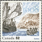 [Joint Issue with France - Founding of Québec City, Typ CPV]