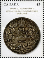 [Royal Canadian Mint - 1908-2008, Typ CQB]