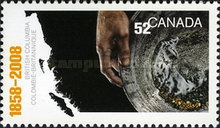 [The 150th Anniversary of British Columbia, Typ CQS]