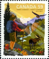 [The 100th Anniversary of Parks Canada, Typ CXJ]