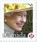 [Queen Elizabeth II - Self Adhesive Stamp, Typ DBY]