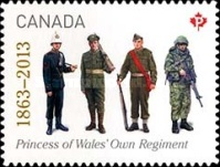 [The 150th Anniversary of The Princess of Wales' Own Regiment, Typ DCY]