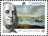 [The 250th Anniversary of Canadian Postal History, Typ DDQ]