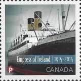 [The 100th Anniversary of the RMS  Empress of Ireland, Typ DGH]